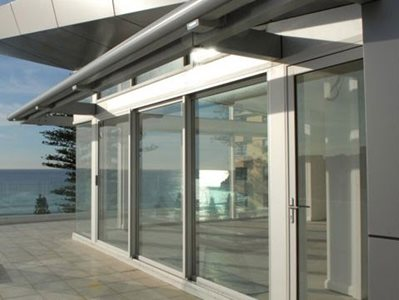 AGS 225 Series Hinged Door Commercial Exterior