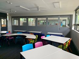 Bildspec Operable Walls: Education based venues