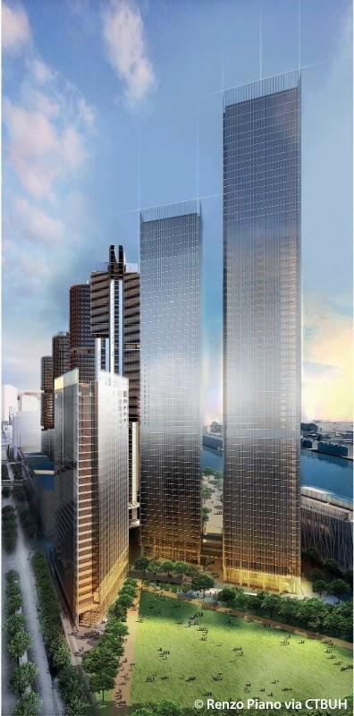 Renzo Piano building Barangaroo