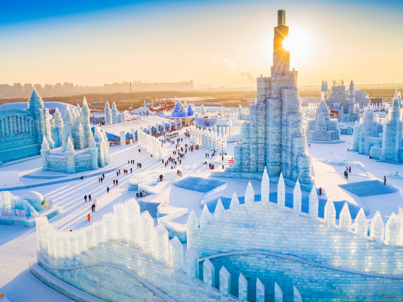 china harbin ice festival international architecture