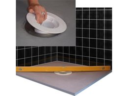 Hygenic Shower Trays with No Damp Build Up by Marmox Australia