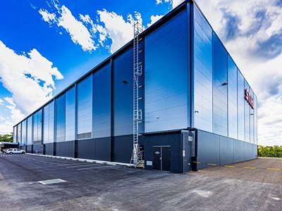 Insulated Wall Panels Industrial Building Exterior