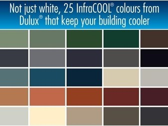 Dulux AcraTex InfraCOOL Technology For Cooler Roof Surfaces Architecture An