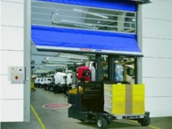 High Speed Industrial Automatic Doors by DMF International