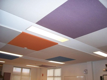 Fabric Covered Acoustic Panels by Sontext