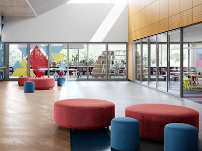 Optica Primary School Common Area