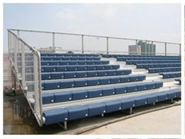 Grandstands -  Delta fixed grandstand for outdoor spectator seating requirements