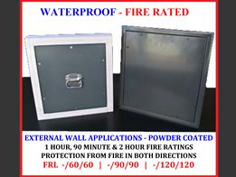 Dual screw fixed – Waterproof wall system: 1 hour, 90 minute & 2 hour FYREPANEL
