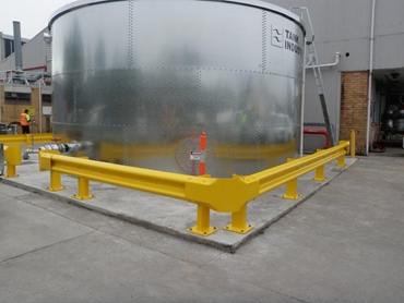Increased protection and safety with building guardrails from Armco