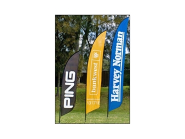 Fabric Frames, Printed Flags and Banner Stands from National Sign Systems