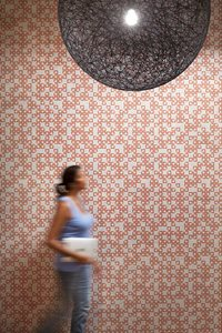 Woven Image wall covering