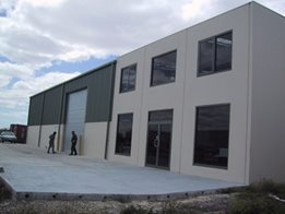 Architectural Commercial or Industrial Buildings by Trusteel Fabrications