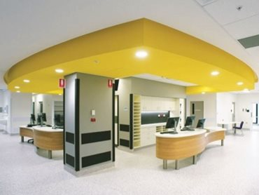 The Green Star compliant Wattyl I.D was used for the building's interior on the walls and ceilings