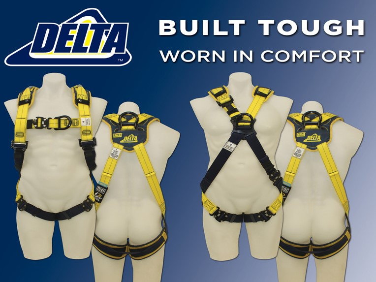 Delta™ Comfort Harnesses for safety