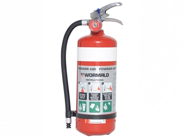 Powder Fire Extinguishers from Wormald