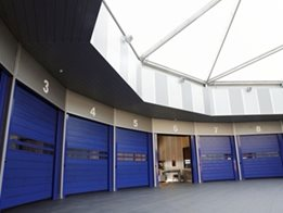 Efaflex SST High Speed Security Doors from DMF International