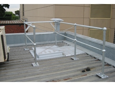 Rooftop Railings for Safe and Secure Roof Access