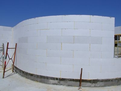Series curved walls