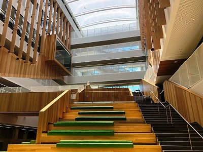 100m Adelaide School Project Features Materials From