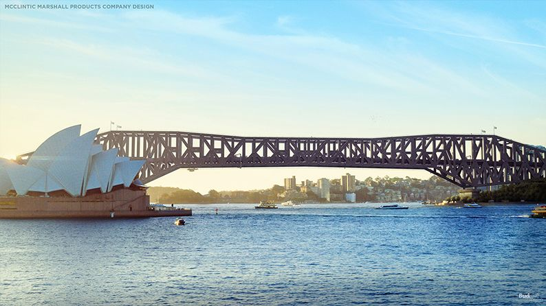 What Sydney Harbour Bridge could have looked like | Architecture