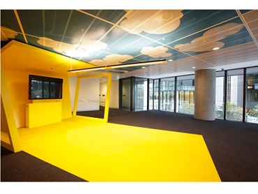 SAS Metal Ceiling Systems Deliver a Long-Term Solution With Service Integration and Design