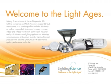 Gaming, Architainment, Industrial, Retail and Infrastructure LED Lights from Lighting Science