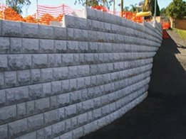 ​Stone Strong Stone Retaining Walls from Concrib