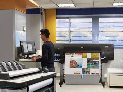 HP DesignJet large-format office printers