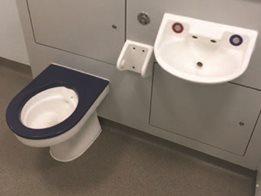 Wallgate's specialised solid surface washroom solutions for mental health and corrections