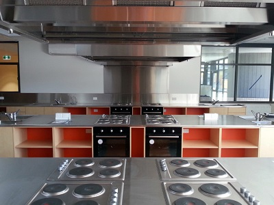 Britex stainless steel fixtures