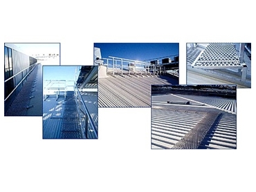 Roof Walkway Systems and Access Ladders from Jomy Safety Ladders