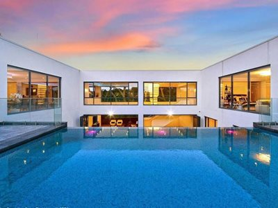 residential infinity swimming pool