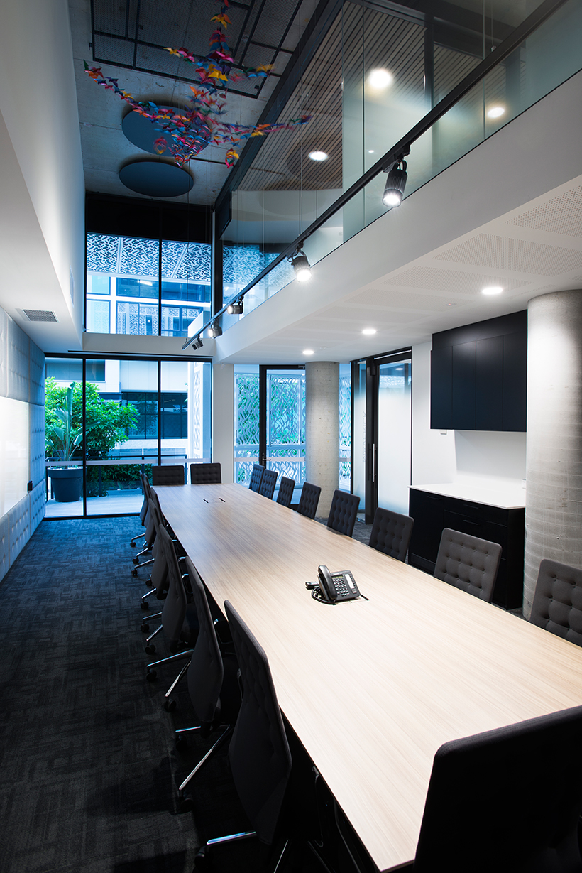 This queensland office by ellivo architects will make you for Office design brisbane