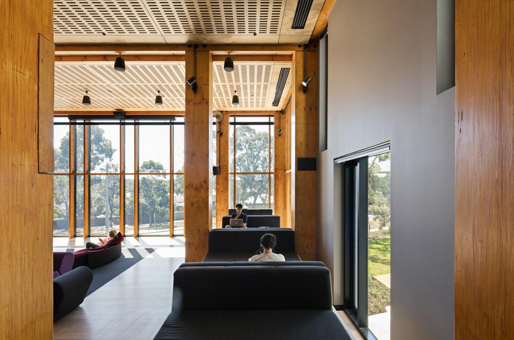 Rmit Bundoora West Student Accommodation Walert House By