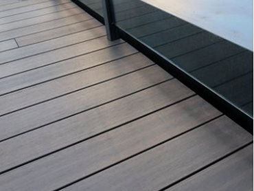 ResortDeck decking in Sunset colour