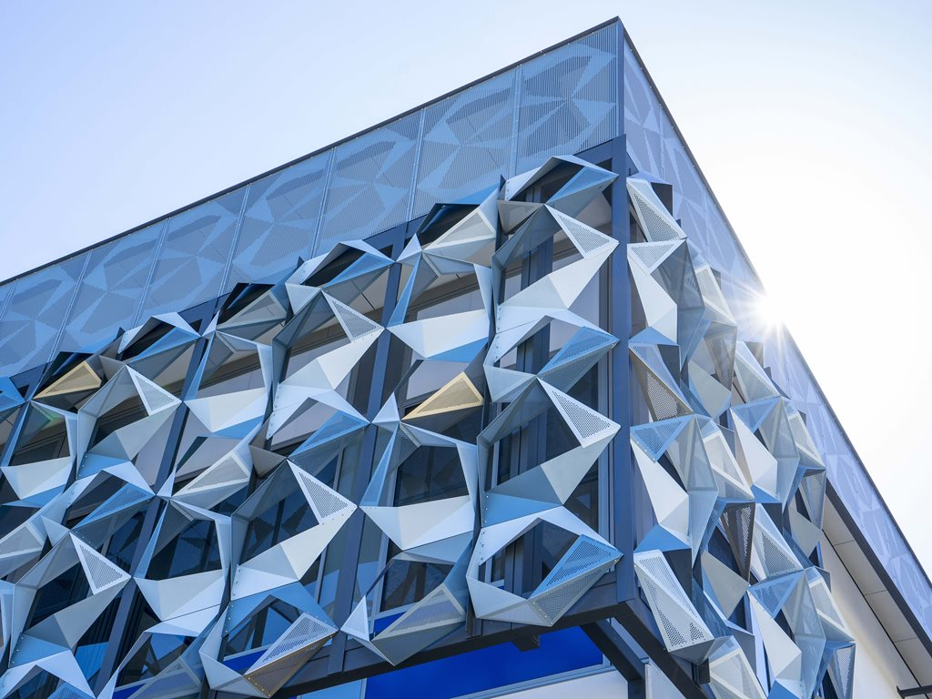 Pic-Perf® architectural perforated metal panels from Locker Group