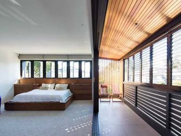 North Bondi home interiors with Mafi timber