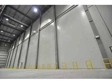 Insulated Wall and Ceiling Panels for Cold Storage from Industrial Panel Australia