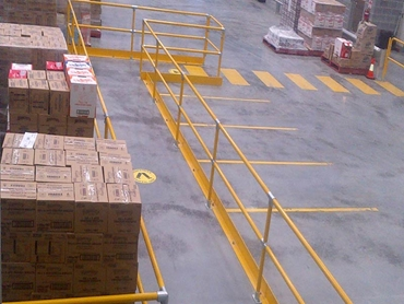 Tuffstop Trolley Bays and Safety Bollards from Moddex l jpg