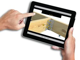 MiTek's EasyCat App for choosing the right engineered building product