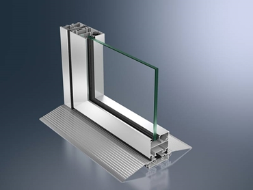 Schueco ASS insulated and uninsulated aluminium sliding door systems offer a wide choice of styles and options