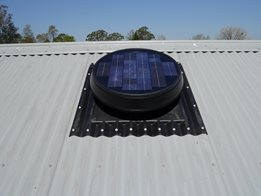 Solar Star Roof Ventilation System