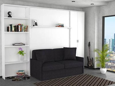 Lounge room interior dile slim day smart bed