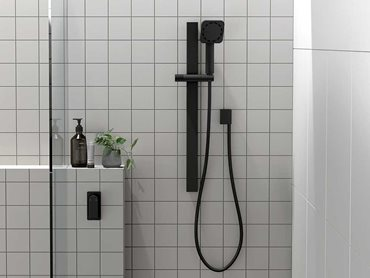 NX Orli with HydroSense® Rail Shower in Matte Black