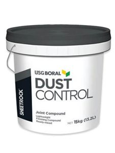 dust control tub of join compound
