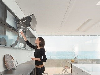 AVENTOS lift systems for wall cabinets