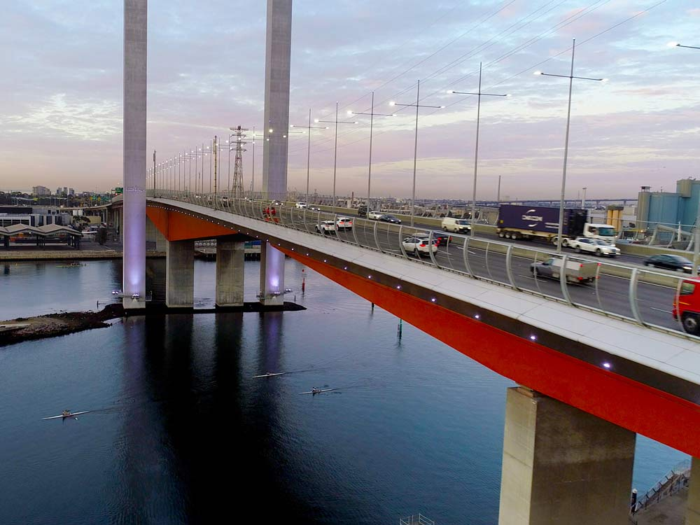 Ronstan Tensile Architecture Safety and Fall Protection Bolte Bridge
