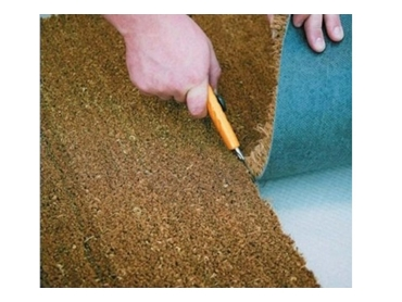 Perfect for high traffic areas, mats can be cut to the right size with ease