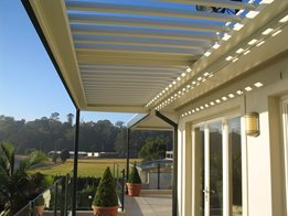 Commercial Opening And Closing Louvred Pergolas