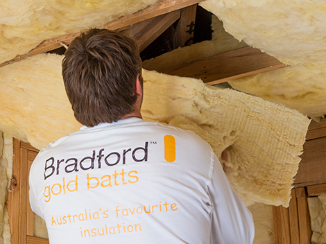 Gold Wall and Ceiling Batts by Bradford Insulation (CSR)